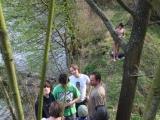 Opet ze stromu - nikomu dalsimu se ale do vody uz pak nejak nechtelo