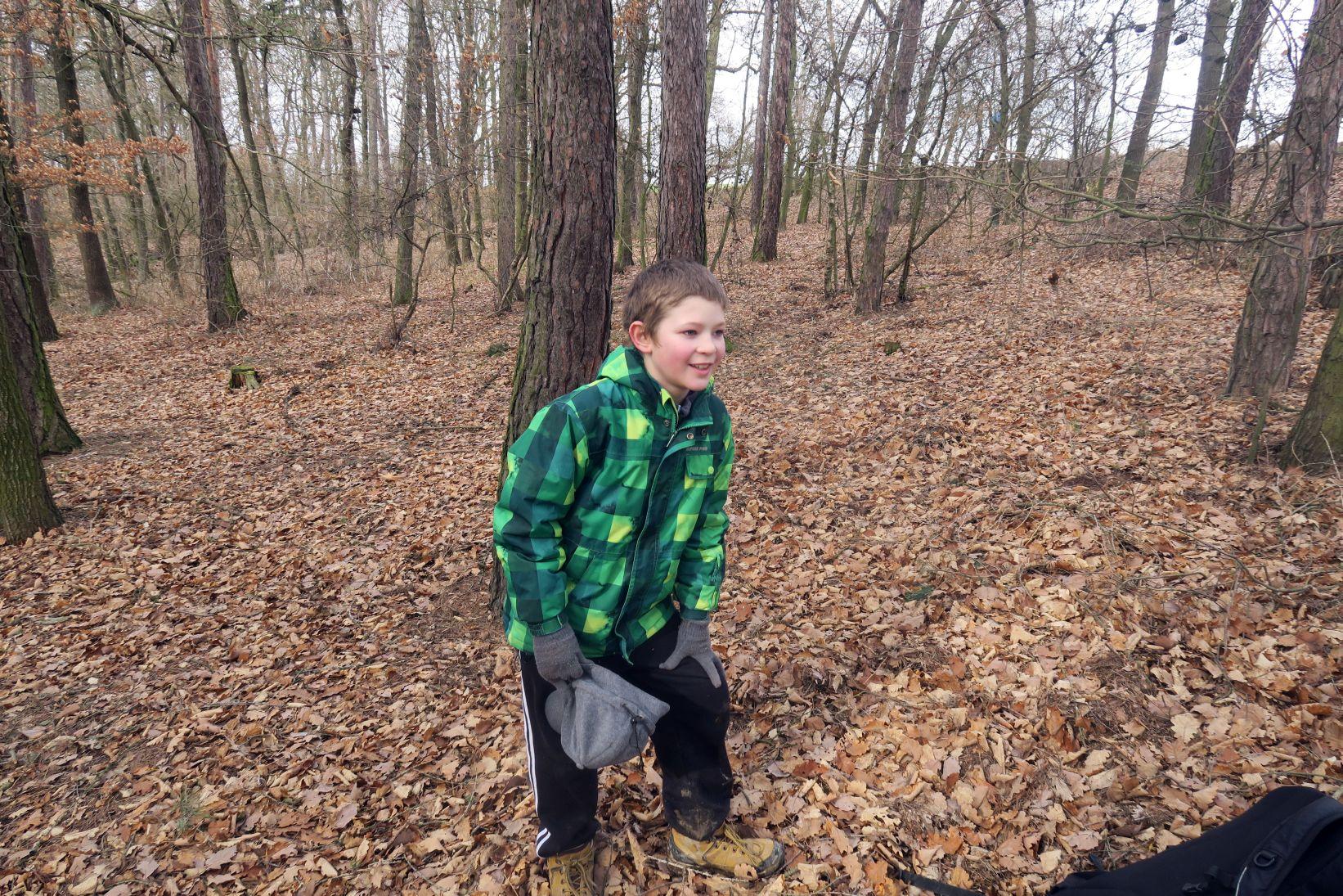 Jak mám najít nějakej strom, když jsme v lese