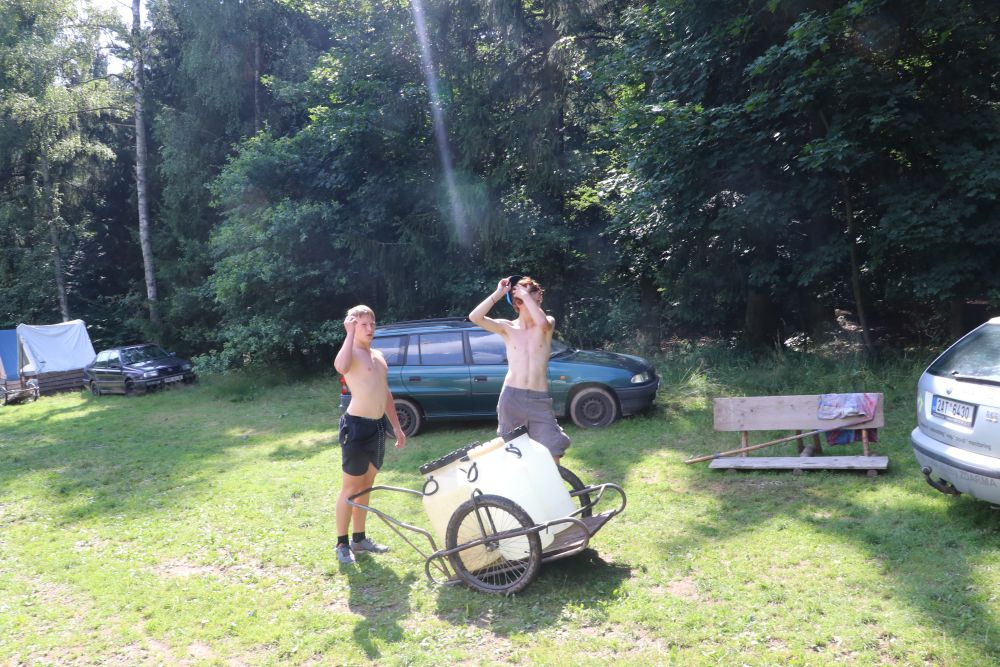 Na tabore kazdy pozna cenu vody